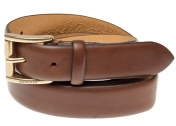 Morris Leather Belt Slim - Brown