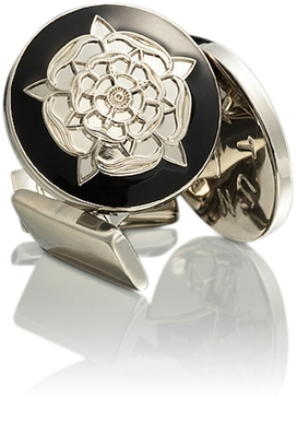 Tudor Rose Silver Black