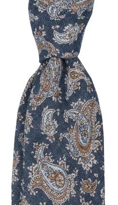Slips 8 cm | Blended Paisley | Navy