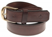 Morris Leather Belt Classic - Dark Brown