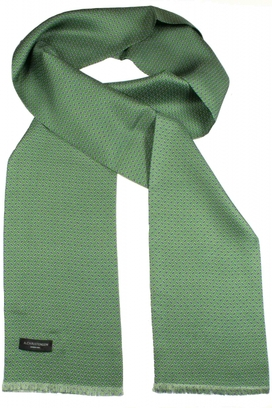 Sidenscarf Green Small Paisley
