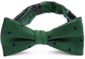 Bow Tie Dots Green 33408-305