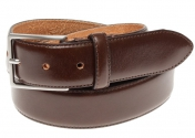 Morris Leather Belt - Dark Brown