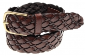 Morris Woven Belt - Dark Brown