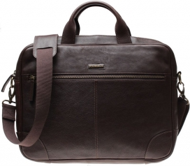 Laptop Bag Morris - Dark Brown