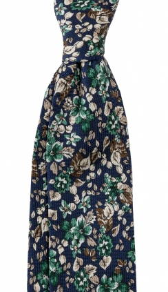 Slips Floral 6 cm | Navy Green