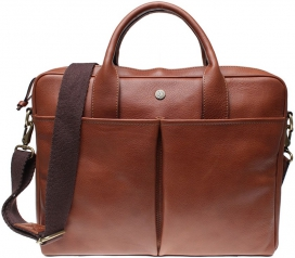 Laptop Bag Boomerang - Midbrown
