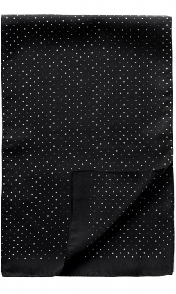 Scarf Dots | Black