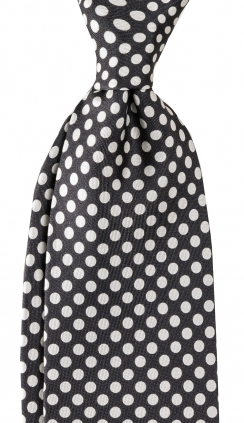 Slips 8 cm | Dots Black White | Eton
